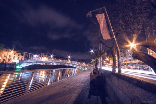 Liffey Bridge, Dublin.