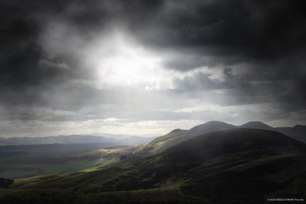 View from Pentland Hills